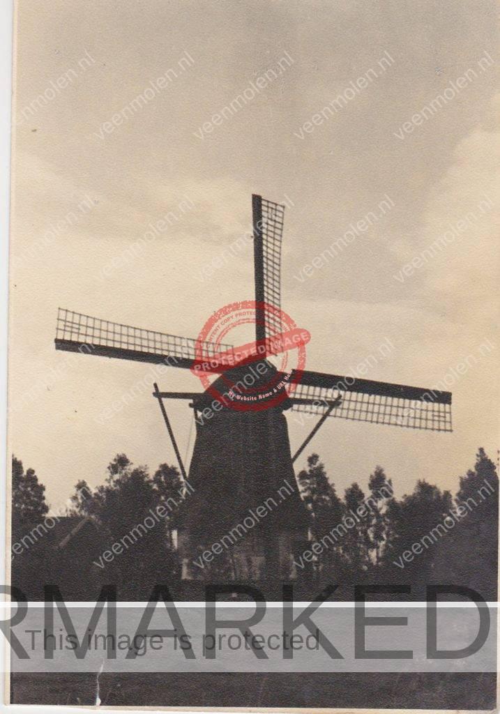 Foto van de molen uit eigen archief